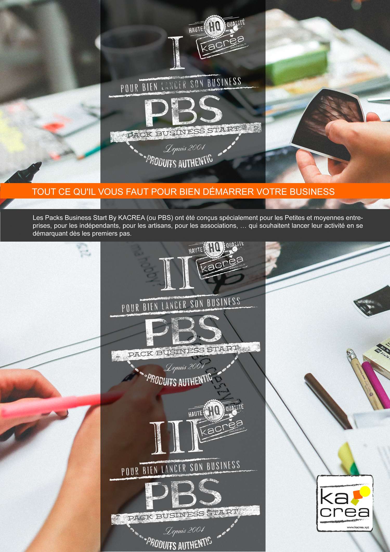 PBS Packs Business Start pour commencer son activité