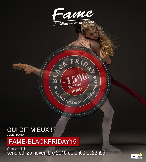 fame blackfriday newsletter