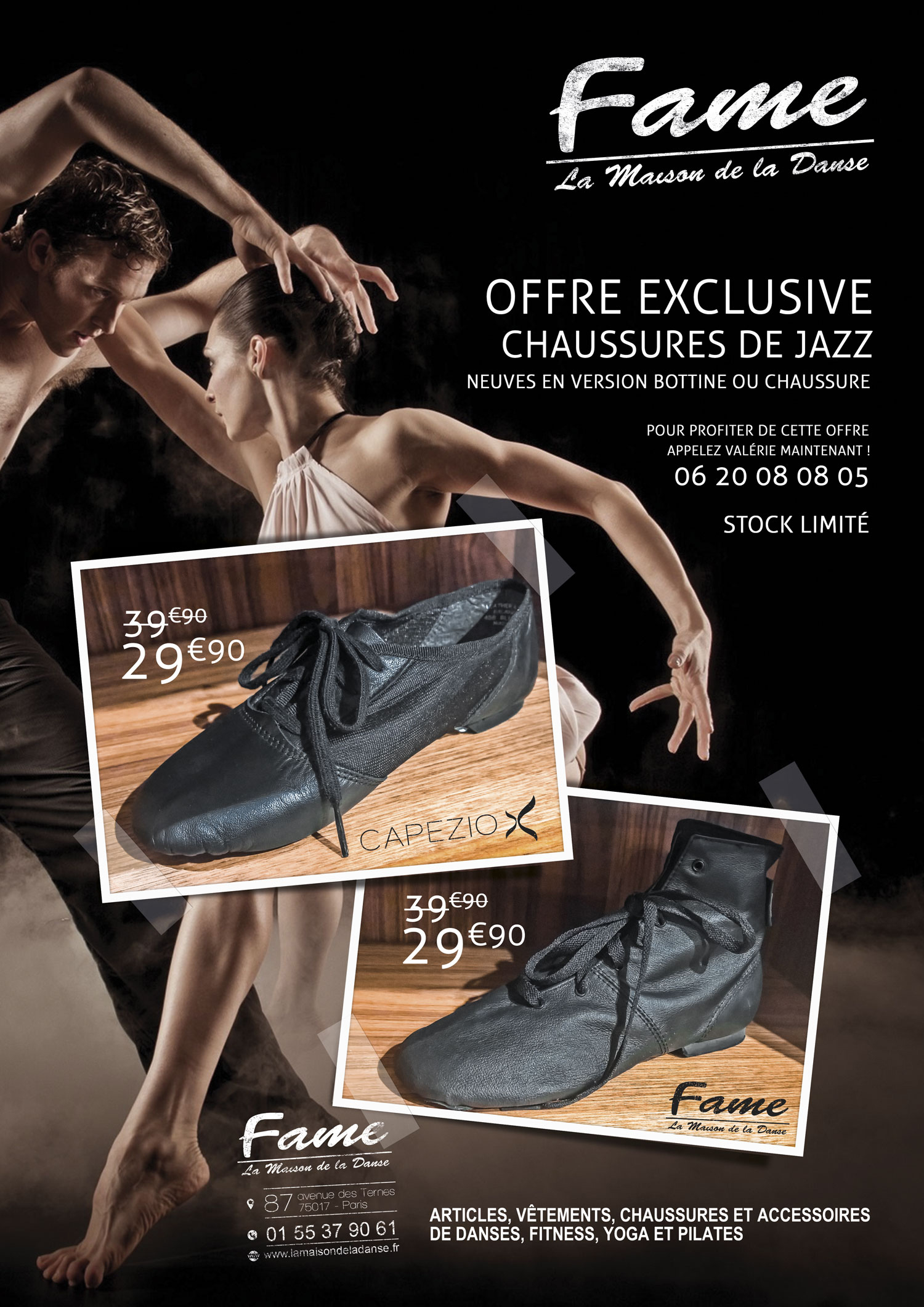 fame chaussures jazz A3