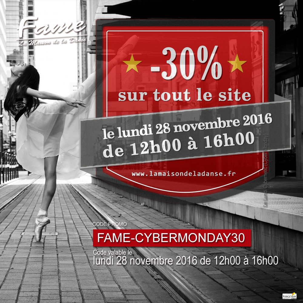 fame cybermonday instagram